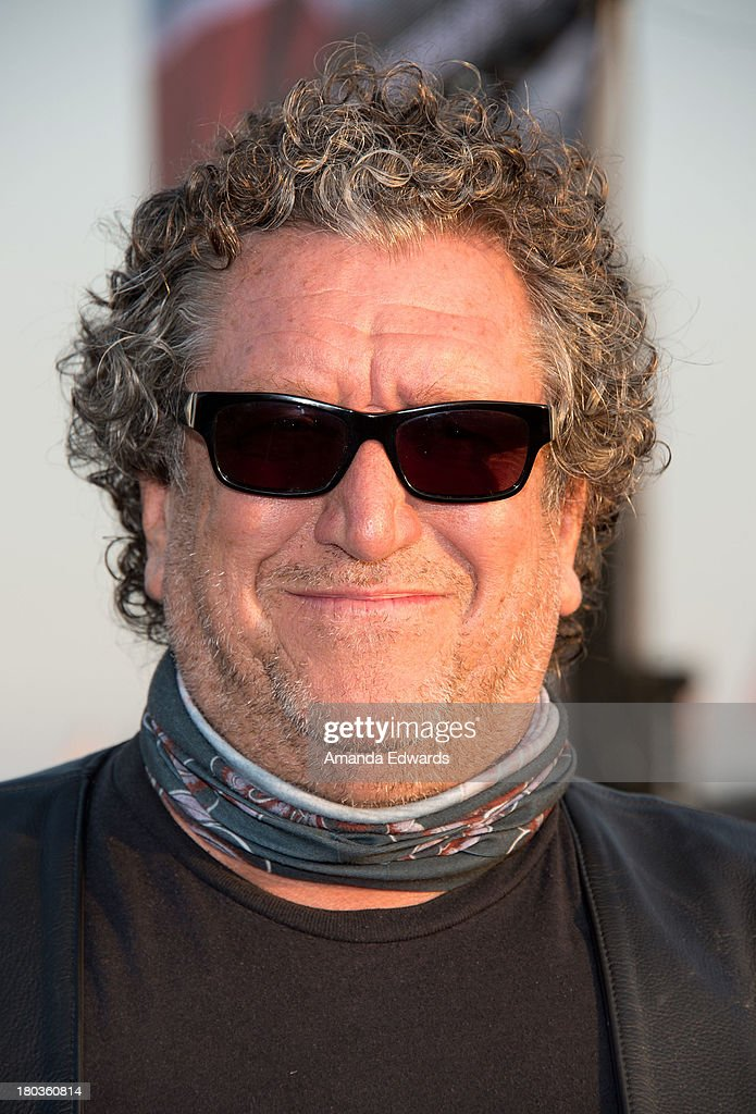 Musician Steve Jones attends the Cycle For Heroes: A Rock Inspired Ride On Santa Monica Pier at Santa Monica Pier on September 11, 2013 in Santa Monica, California.