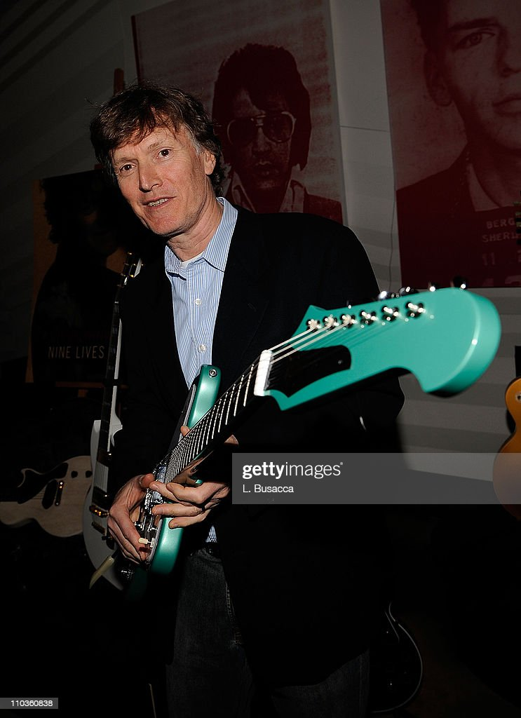 Musician Steve Winwood at the listening party for his new album 'Nine Lives' on March 4, 2008 in New York City