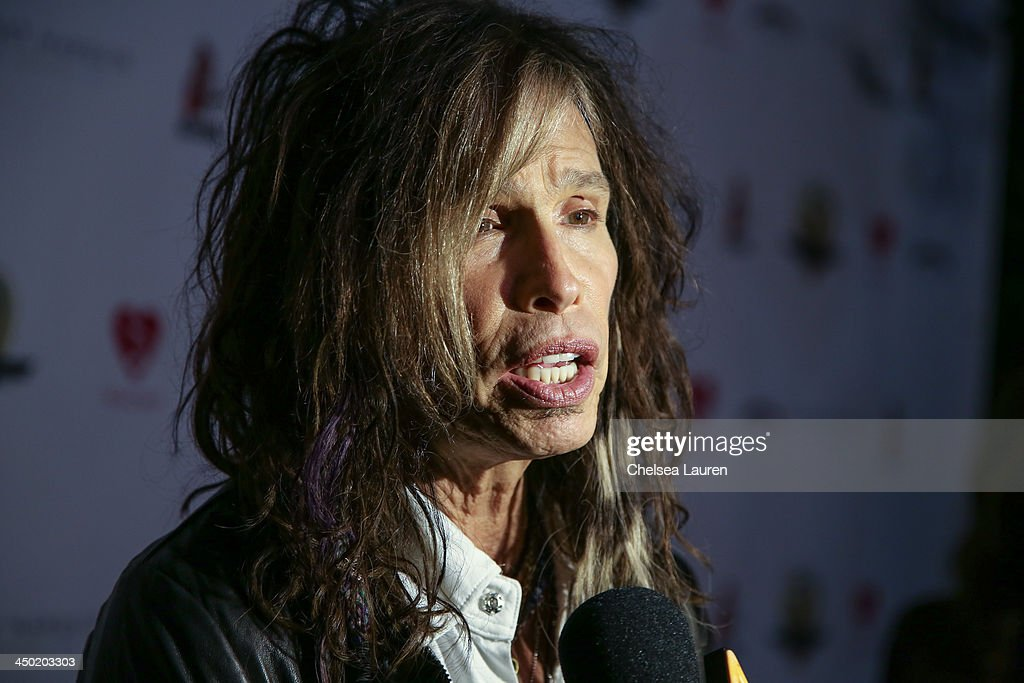Musician <a gi-track='captionPersonalityLinkClicked' href=/galleries/search?phrase=Steven+Tyler+-+Musician&family=editorial&specificpeople=202080 ng-click='$event.stopPropagation()'>Steven Tyler</a> arrives at the Sunset Marquis Hotel 50th anniversary birthday bash at Sunset Marquis Hotel & Villas on November 16, 2013 in West Hollywood, California.