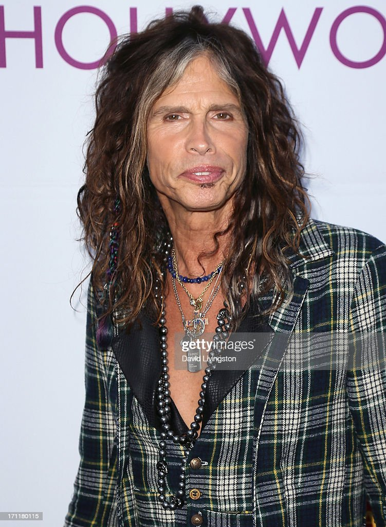 Musician <a gi-track='captionPersonalityLinkClicked' href=/galleries/search?phrase=Steven+Tyler&family=editorial&specificpeople=202080 ng-click='$event.stopPropagation()'>Steven Tyler</a> attends Opening Night at The Hollywood Bowl 2013 at The Hollywood Bowl on June 22, 2013 in Los Angeles, California.
