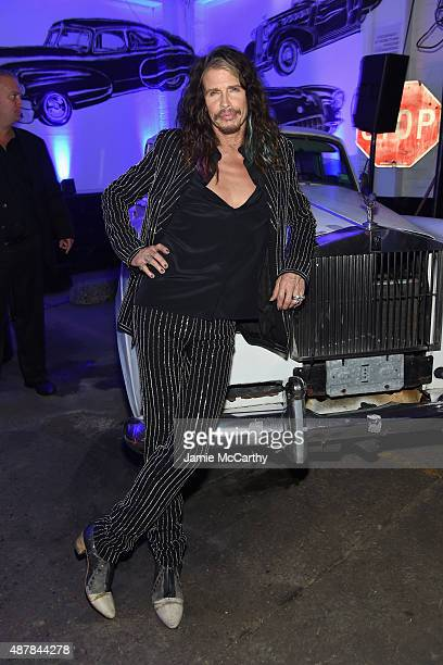 Musician Steven Tyler attends the Givenchy SS16 after party on September 11 2015 in New York City