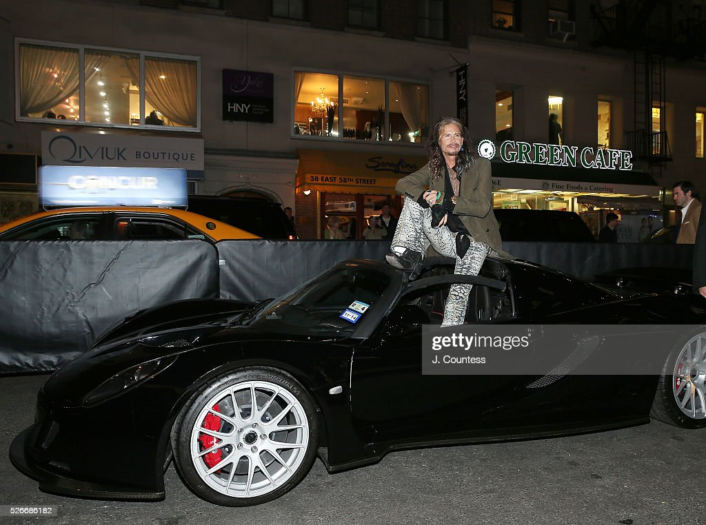 Musician <a gi-track='captionPersonalityLinkClicked' href=/galleries/search?phrase=Steven+Tyler+-+Musician&family=editorial&specificpeople=202080 ng-click='$event.stopPropagation()'>Steven Tyler</a> poses for a photo at the '<a gi-track='captionPersonalityLinkClicked' href=/galleries/search?phrase=Steven+Tyler+-+Musician&family=editorial&specificpeople=202080 ng-click='$event.stopPropagation()'>Steven Tyler</a>...Out On A Limb' Kick Off Celebration at Lavo on April 30, 2016 in New York City.