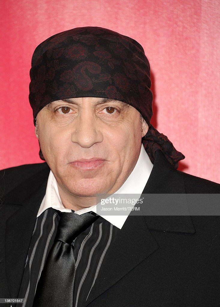 Musician <a gi-track='captionPersonalityLinkClicked' href=/galleries/search?phrase=Steven+Van+Zandt&family=editorial&specificpeople=206354 ng-click='$event.stopPropagation()'>Steven Van Zandt</a> arrives at the 2012 MusiCares Person of the Year Tribute To Paul McCartney held at the Los Angeles Convention Center on February 10, 2012 in Los Angeles, California.