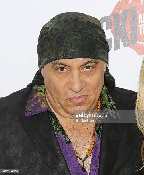 Musician Steven Van Zandt attends the 'Ricki And The Flash' New York premiere at AMC Lincoln Square Theater on August 3 2015 in New York City