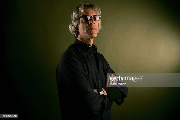 Musician Stewart Copeland poses for a portrait at the Getty Images Portrait Studio during the 2006 Sundance Film Festival on January 23 2006 in Park...