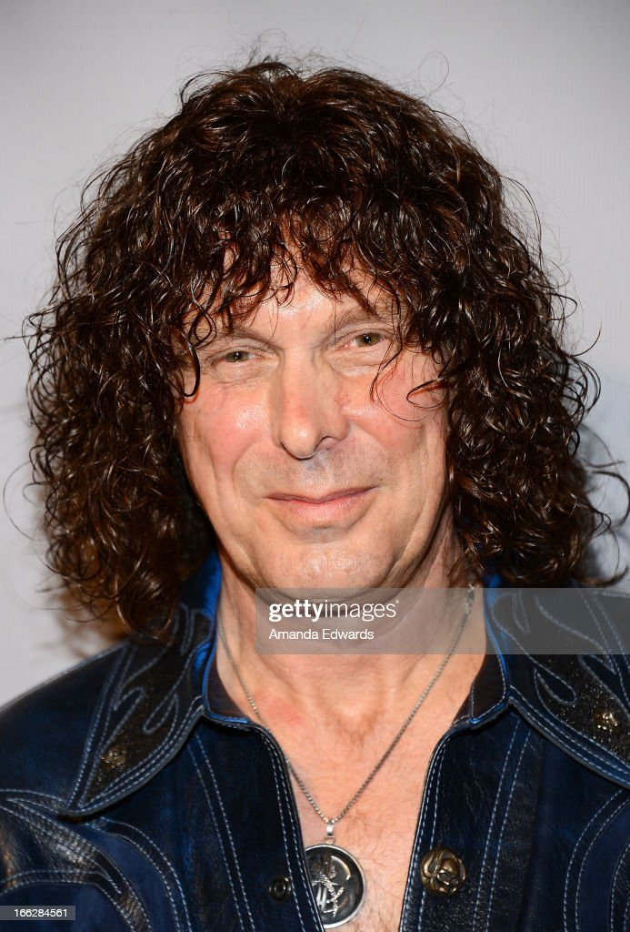 Musician Stuart Smith of the band Heaven and Earth arrives at the Heaven and Earth 'Dig' world premiere album release party at The Fonda Theatre on April 10, 2013 in Los Angeles, California.