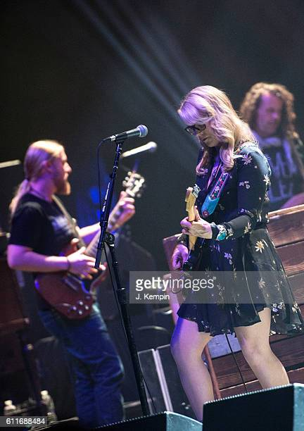 Musician Susan Tedeschi of Tedeschi Trucks Band performs at The Beacon Theatre on September 30 2016 in New York City