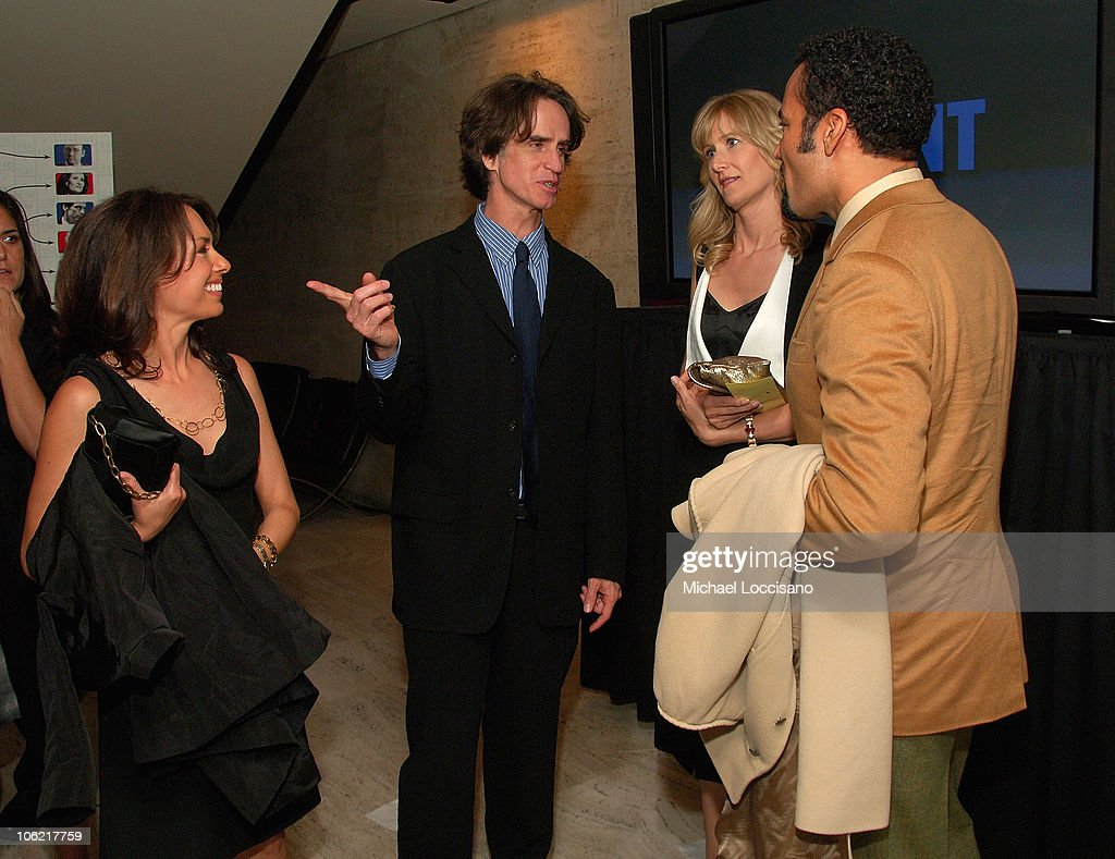 Musician Susanna Hoffs, director and executive producer Jay Roach, actress Laura Dern and musician Ben Harper attend the after party for the New York premiere of HBO Films' 'Recount', at The Four Seasons Restaurant in New York City on May 13, 2008.