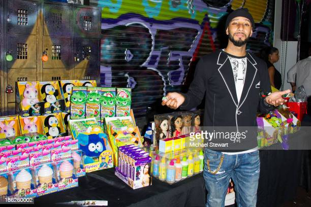 Musician Swizz Beatz attends Flipeez Presents Kasseem's Dream Halloween Party at BKLYN BEAST on October 29 2013 in Brooklyn New York