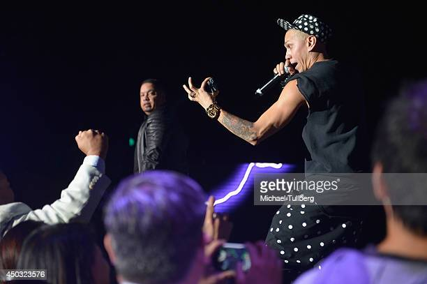Musician Taboo of the Black Eyed Peas performs at the Rebuild Benefit For Typhoon Haiyan Survivors at The Greek Theatre on June 8 2014 in Berkeley...