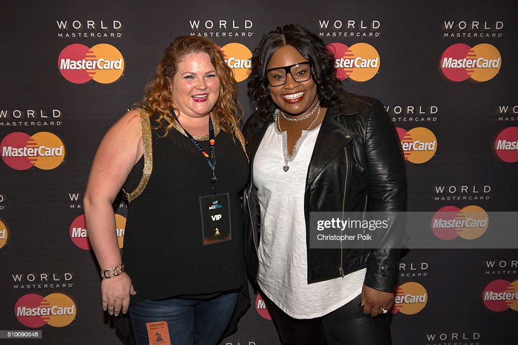 Musician <a gi-track='captionPersonalityLinkClicked' href=/galleries/search?phrase=Tasha+Cobbs&family=editorial&specificpeople=11486733 ng-click='$event.stopPropagation()'>Tasha Cobbs</a> poses with TJX Rewards (R) Platinum MasterCard Card holders at the MasterCard Lounge at Westwood One Backstage on February 13, 2016 in Los Angeles, California.