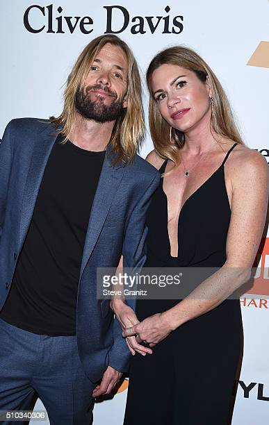 Musician Taylor Hawkins and Alison Hawkins attend the 2016 PreGRAMMY Gala and Salute to Industry Icons honoring Irving Azoff at The Beverly Hilton...