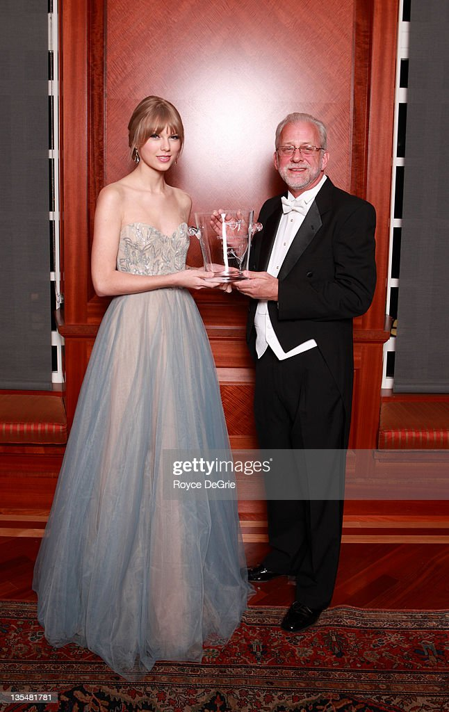 Musician <a gi-track='captionPersonalityLinkClicked' href=/galleries/search?phrase=Taylor+Swift&family=editorial&specificpeople=619504 ng-click='$event.stopPropagation()'>Taylor Swift</a> and Alan Valentine attend the annual Nashville Symphony Ball at the Schermerhorn Symphony Center on December 10, 2011 in Nashville, Tennessee. Swift, a 4-time GRAMMY winner, was honored with the Nashville Symphony's prestigious Harmony Award, recognizing her for exemplifying the unique harmony between the many worlds of music that exist in Nashville, and her significant contributions to the development and appreciation of musical culture. Earlier this month Swift was feted by Billboard magazine as their 2011 Woman of the Year, the youngest artist ever to receive this top honor. Last month she won Artist of the Year at the American Music Awards and was named Entertainer of the Year by the Country Music Association.