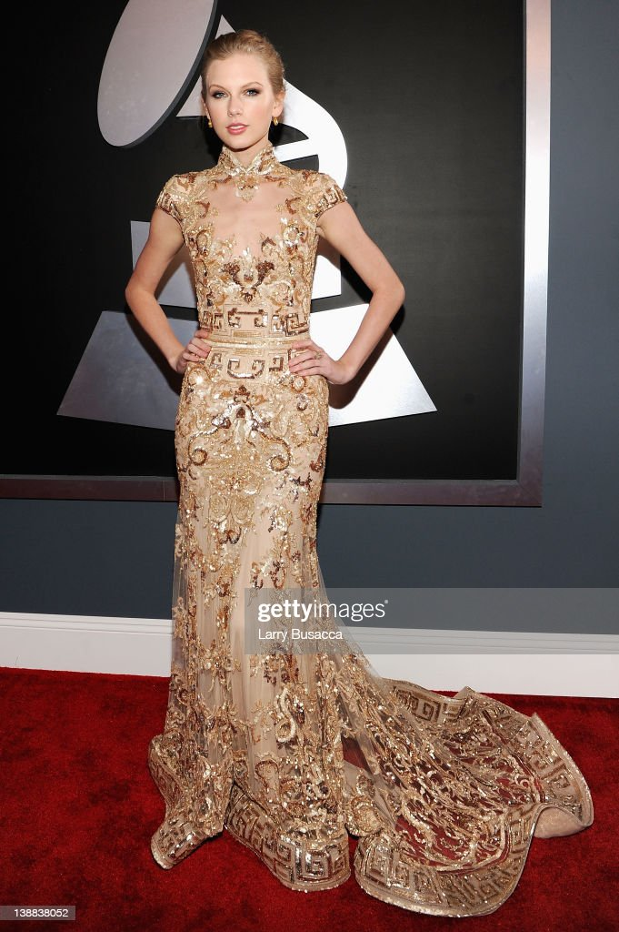 Musician <a gi-track='captionPersonalityLinkClicked' href=/galleries/search?phrase=Taylor+Swift&family=editorial&specificpeople=619504 ng-click='$event.stopPropagation()'>Taylor Swift</a> arrives at the 54th Annual GRAMMY Awards held at Staples Center on February 12, 2012 in Los Angeles, California.