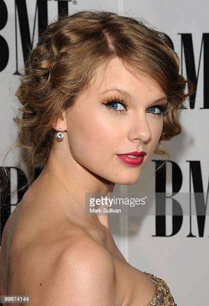 Musician Taylor Swift attends the 58th Annual BMI Pop Awards held at the Beverly Wilshire Hotel on May 18 2010 in Beverly Hills California