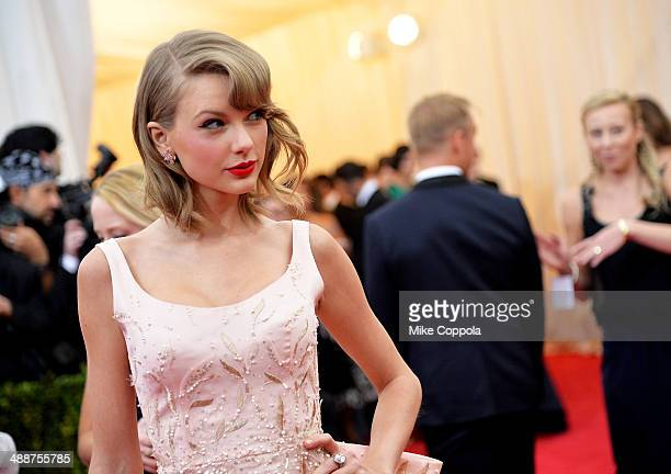 Musician Taylor Swift attends the 'Charles James Beyond Fashion' Costume Institute Gala at the Metropolitan Museum of Art on May 5 2014 in New York...
