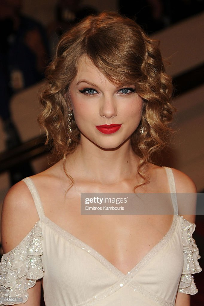 Musician Taylor Swift attends the Costume Institute Gala Benefit to celebrate the opening of the 'American Woman: Fashioning a National Identity' exhibition at The Metropolitan Museum of Art on May 3, 2010 in New York City.
