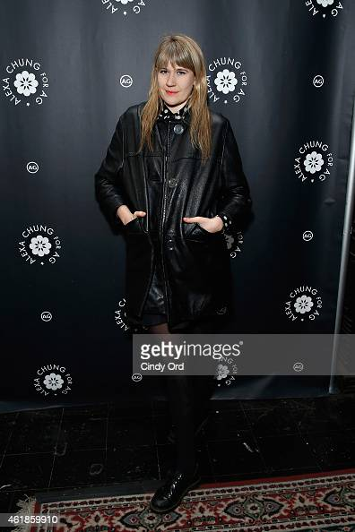 Musician Tennessee Thomas attends the Alexa Chung for AG New York Launch Party on January 20 2015 in New York City