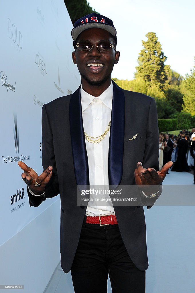 Musician Theophilus London arrives at the 2012 amfAR's Cinema Against AIDS during the 65th Annual Cannes Film Festival at Hotel Du Cap on May 24, 2012 in Cap D'Antibes, France.