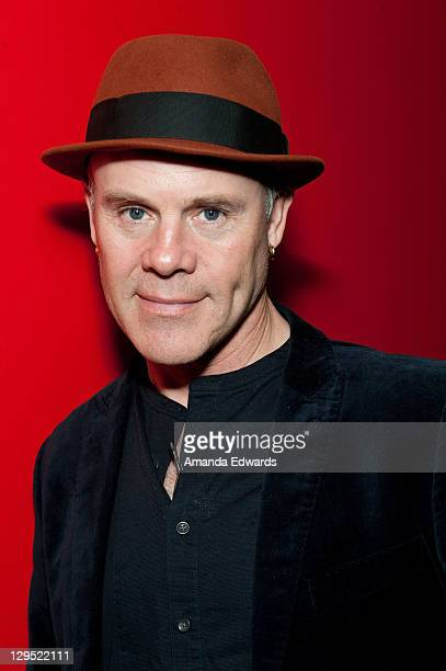 Musician Thomas Dolby poses backstage before participating in 'An Evening With Thomas Dolby' at The GRAMMY Museum on October 17 2011 in Los Angeles...