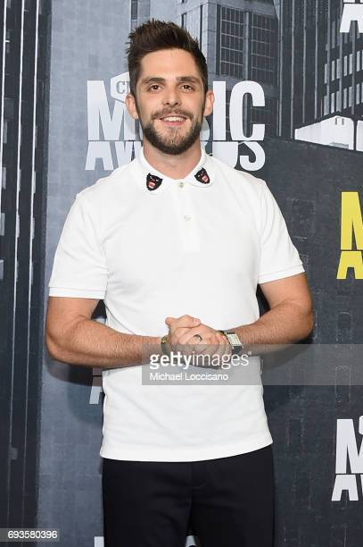 Musician Thomas Rhett attends the 2017 CMT Music Awards at the Music City Center on June 7 2017 in Nashville Tennessee