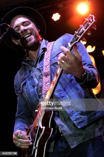 Musician Tim G Lopez of Plain White T's perform at the Grove Summer Concert Series held at The Grove on July 6 2016 in Los Angeles California