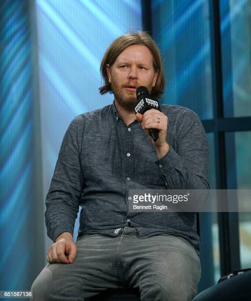 Musician Tim Kingsbury of Arcade Fire attends the Build Series at Build Studio on March 10 2017 in New York City