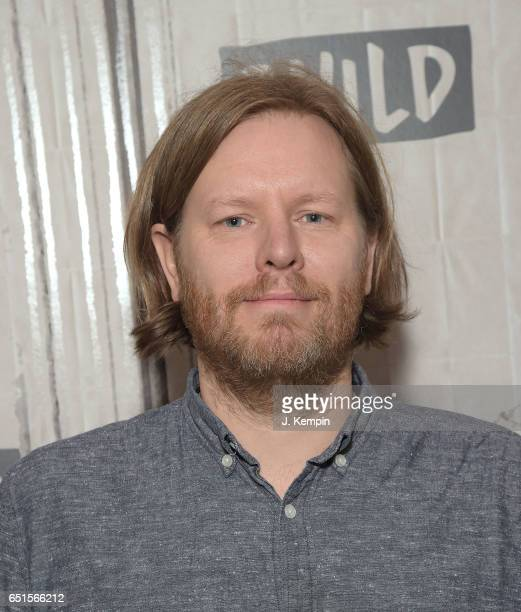 Musician Tim Kingsbury of Arcade Fire visits the Build Series at Build Studio on March 10 2017 in New York City