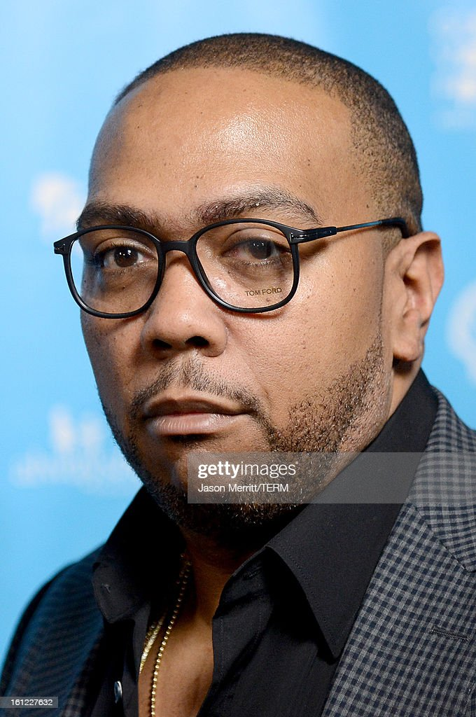 Musician <a gi-track='captionPersonalityLinkClicked' href=/galleries/search?phrase=Timbaland+-+Rapper&family=editorial&specificpeople=546742 ng-click='$event.stopPropagation()'>Timbaland</a> joins mPowering Action, a global mobile youth movement at Grammy Week launch, featuring performances by <a gi-track='captionPersonalityLinkClicked' href=/galleries/search?phrase=Timbaland+-+Rapper&family=editorial&specificpeople=546742 ng-click='$event.stopPropagation()'>Timbaland</a> and Avicii at The Conga Room at L.A. Live on February 8, 2013 in Los Angeles, California.