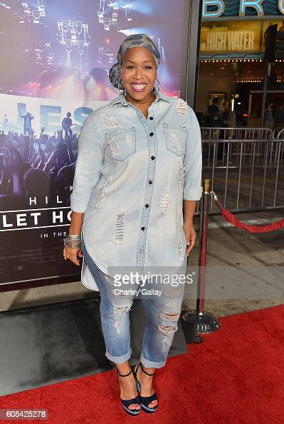 Musician Tina Campbell attends the 'Hillsong Let Hope Rise' premiere at the Westwood Village theater on September 13 2016 in Los Angeles California