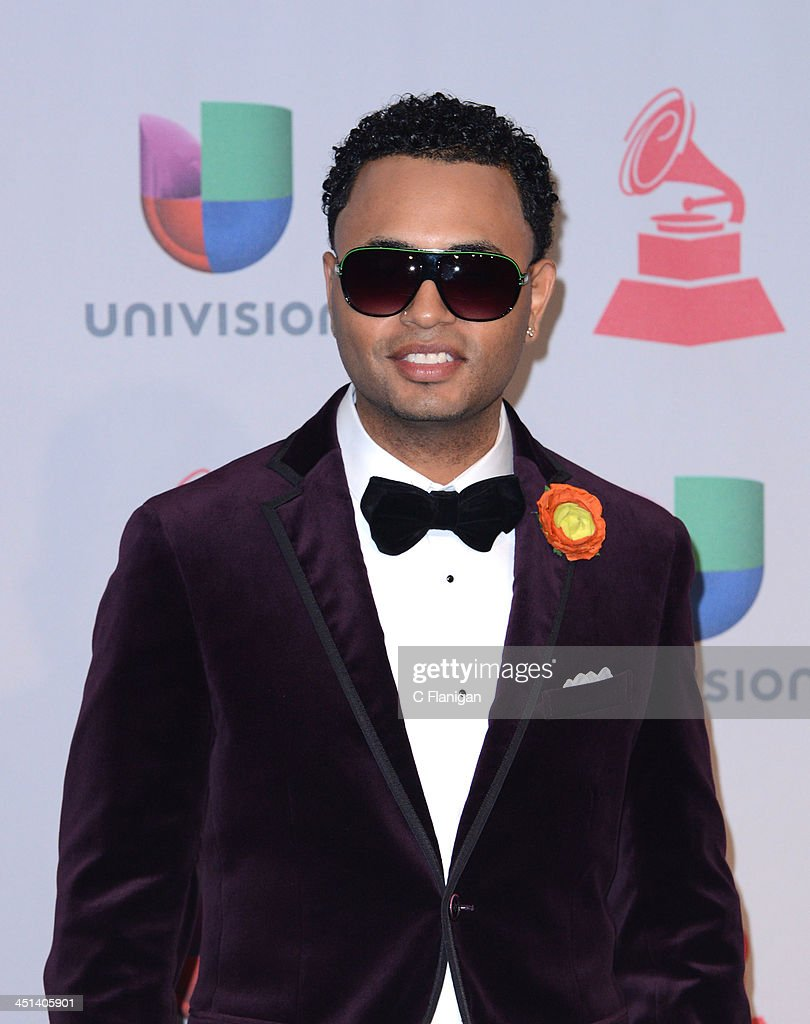 Musician <a gi-track='captionPersonalityLinkClicked' href=/galleries/search?phrase=Toby+Love&family=editorial&specificpeople=3967555 ng-click='$event.stopPropagation()'>Toby Love</a> poses backstage during the 14th Annual Latin GRAMMY Awards at Mandalay Bay Events Center on November 21, 2013 in Las Vegas, Nevada.