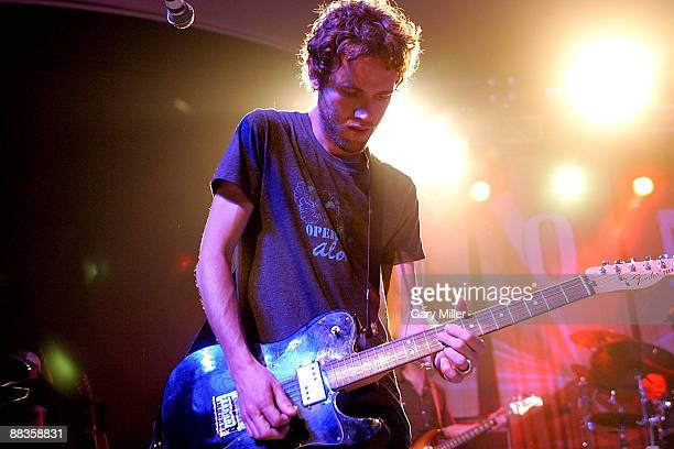 Musician Tom Gray of Gomez performs in concert at Stubb's BarBQ on June 8 2009 in Austin Texas
