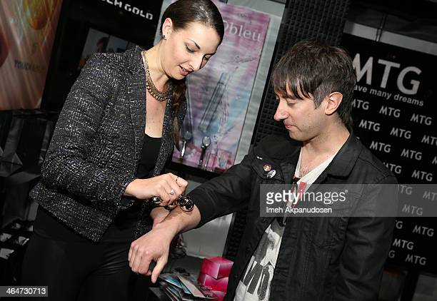 Musician Tom Higgenson attends the GRAMMY Gift Lounge during the 56th Grammy Awards at Staples Center on January 23 2014 in Los Angeles California
