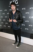 Musician Tom Higgenson of Plain White T's attends the GRAMMY gift lounge during The 57th Annual GRAMMY Awards at the Staples Center on February 7...