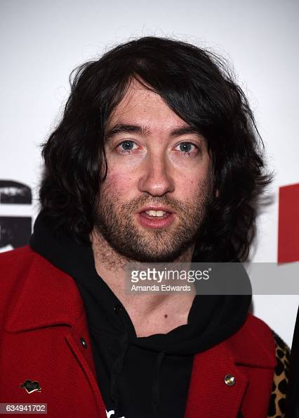 Musician Tom Higgenson of the band Plain White T's arrives at the Primary Wave 11th Annual PreGRAMMY Party at The London West Hollywood on February...