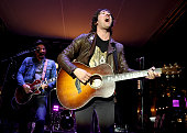 Musician Tom Higgenson of the Plain White T's performs at the Grove's Summer Concert Series on July 6 2016 in Los Angeles California