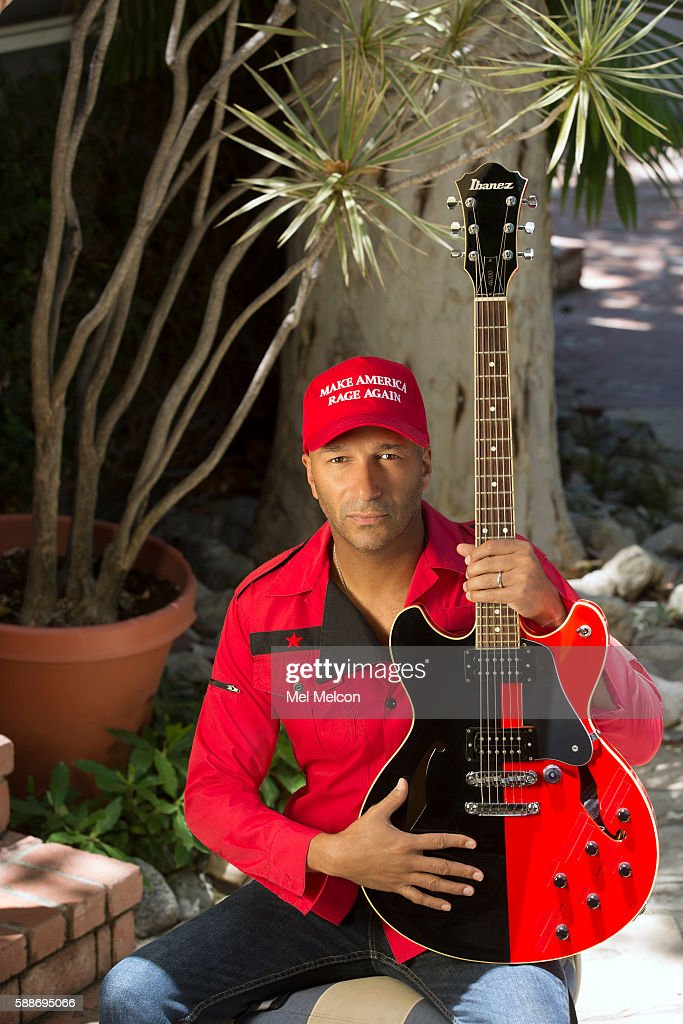 Musician Tom Morello of Rage Against the Machine is photographed for Los Angeles Times on July 8, 2016 in Los Angeles, California. PUBLISHED IMAGE.