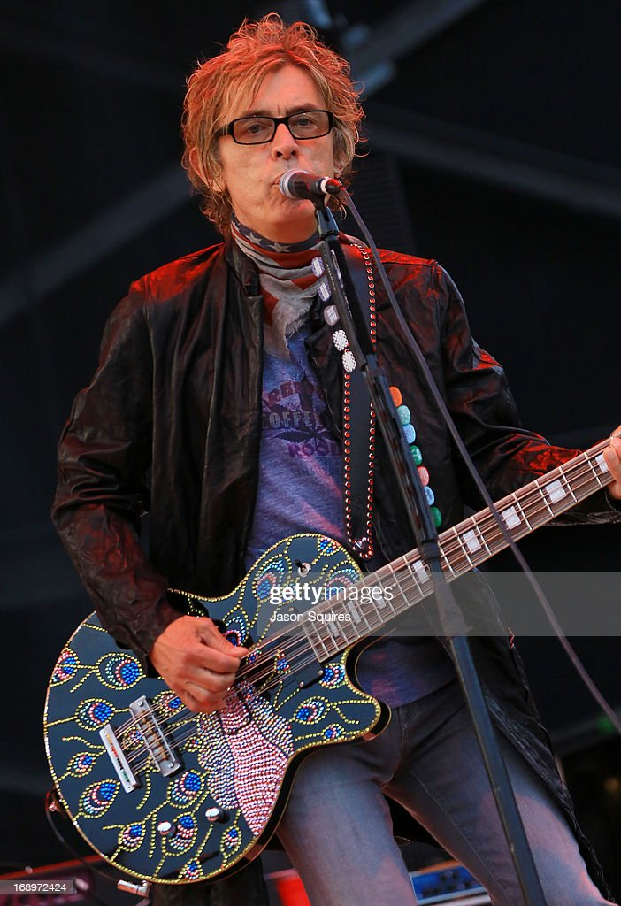 Musician Tom Petersson of Cheap Trick performs during 2013 Rock On The Range at Columbus Crew Stadium on May 17, 2013 in Columbus, Ohio.