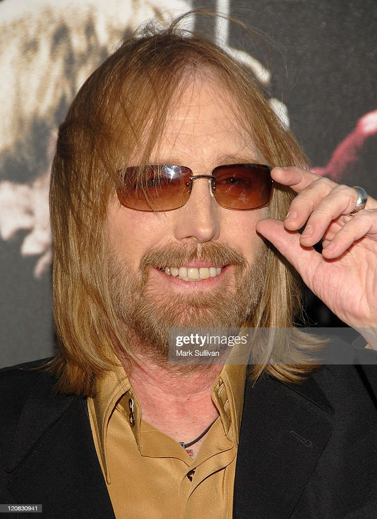 Musician Tom Petty arrives at Runnin' Down A Dream: Tom Petty and The Heartbreakers premiere held in Burbank, California on October 2, 2007.