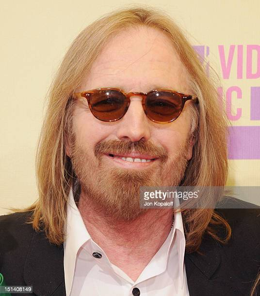 Musician Tom Petty arrives at the 2012 MTV Video Music Awards at Staples Center on September 6 2012 in Los Angeles California