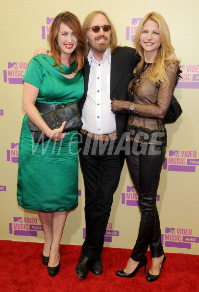 Musician Tom Petty daughter Adria Petty and wife Dana ...