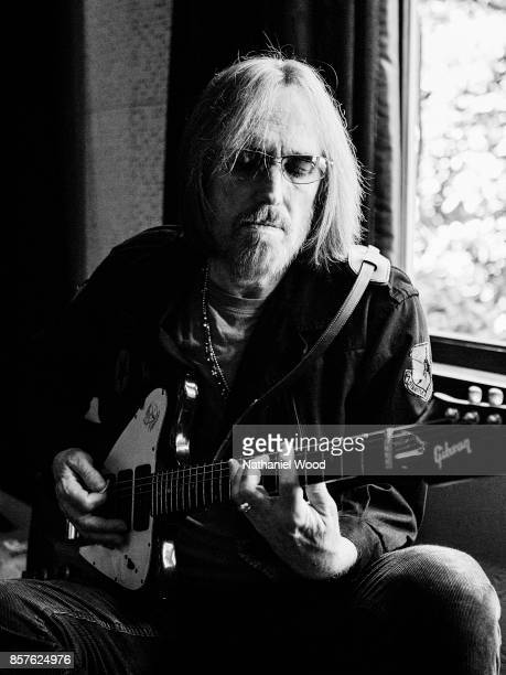 Musician Tom Petty is photographed for Rolling Stone Magazine on March 10 2014 in Malibu California