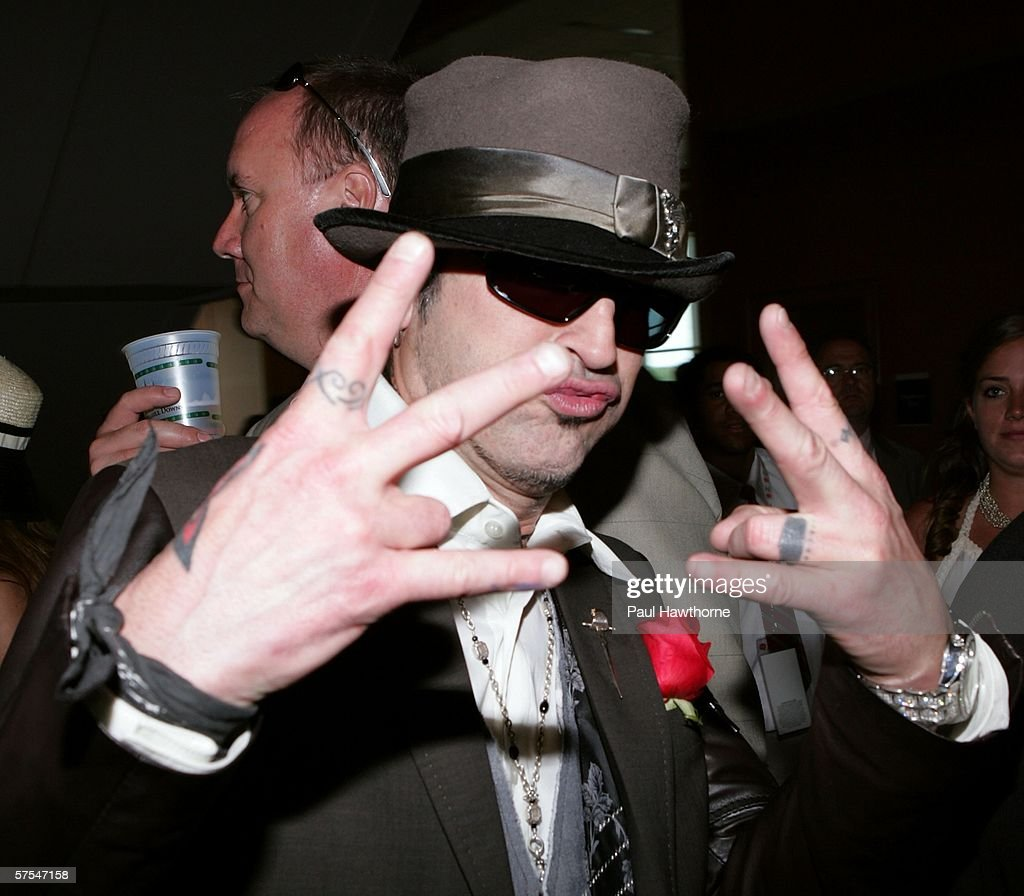 Musician Tommy Lee attends the 132nd Kentucky Derby at Churchill Downs on May 6, 2006 in Louisville, Kentucky.