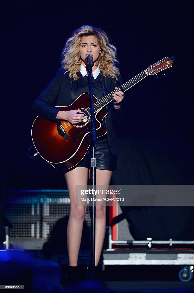 Musician Tori Kelly performs onstage during the 48th Annual Academy Of Country Music Awards - ACM Fan Jam at Orelans Arena on April 7, 2013 in Las Vegas, Nevada.