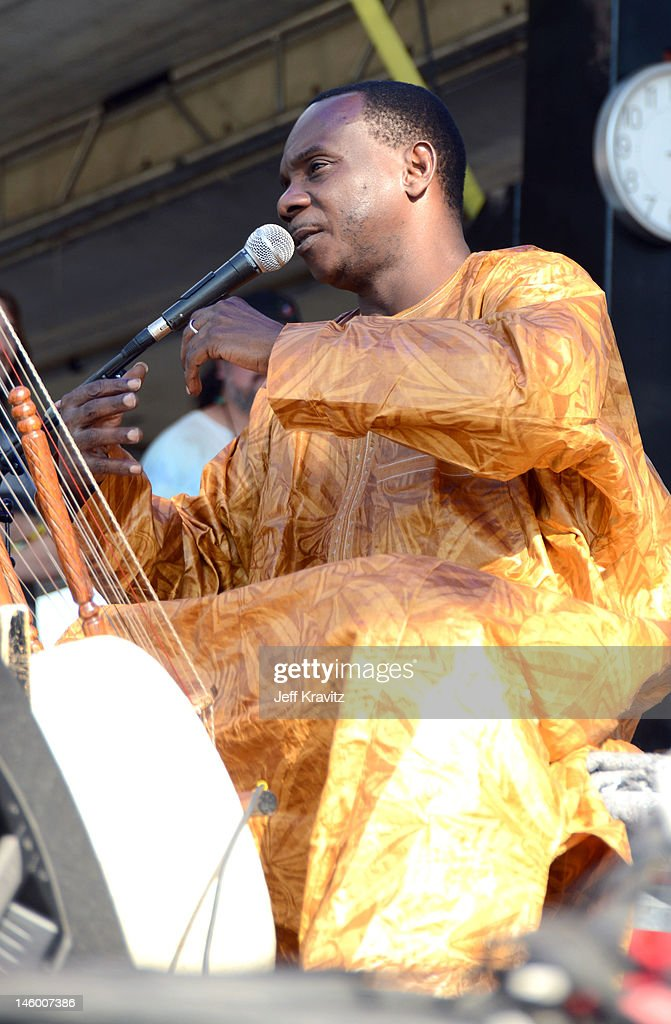 Musician <a gi-track='captionPersonalityLinkClicked' href=/galleries/search?phrase=Toumani+Diabate&family=editorial&specificpeople=828405 ng-click='$event.stopPropagation()'>Toumani Diabate</a> of AfroCubism performs onstage during Day 2 of Bonnaroo 2012 on June 8, 2012 in Manchester, Tennessee.