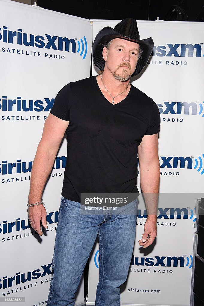 Musician <a gi-track='captionPersonalityLinkClicked' href=/galleries/search?phrase=Trace+Adkins&family=editorial&specificpeople=224686 ng-click='$event.stopPropagation()'>Trace Adkins</a> attends 'SirusXM Sounds Of Summer' Series at Hard Rock Cafe New York on May 15, 2013 in New York City.