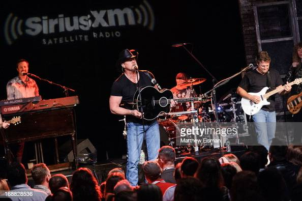 Musician Trace Adkins performs live during 'SirusXM Sounds Of Summer' Series at Hard Rock Cafe New York on May 15 2013 in New York City