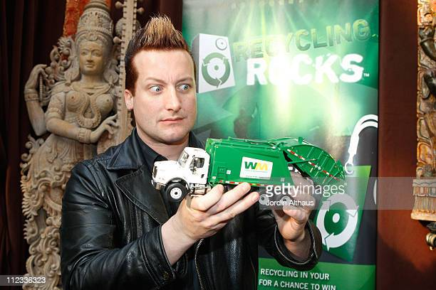 Musician Tre Cool of the music group Green Day attends the 52nd Annual GRAMMY Awards GRAMMY Gift Lounge Day 2 held at the at Staples Center on...