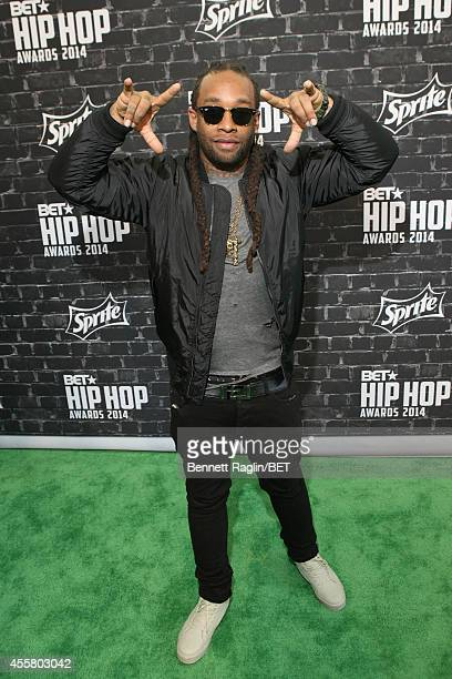 Musician Ty Dolla $ign attends the BET Hip Hop Awards 2014 presented by Sprite at Boisfeuillet Jones Atlanta Civic Center on September 20 2014 in...