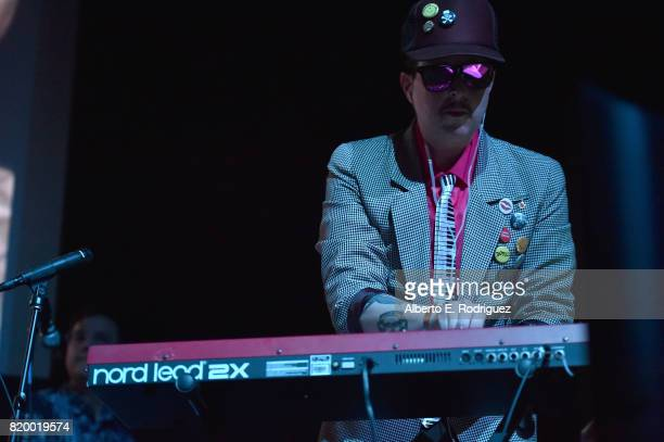 Musician Ulises Lozano of the band 'Kinky' attends Film Independent at LACMA's Bring The Noise Wierd Science at The Bing Theatre At LACMA on July 20...